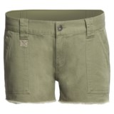DC Shoes Catch Me Cargo Shorts - Brushed Twill (For Women)