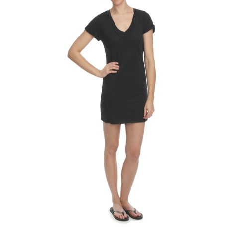 DC Shoes Gears Dress - V-Neck, Short Sleeve (For Women)