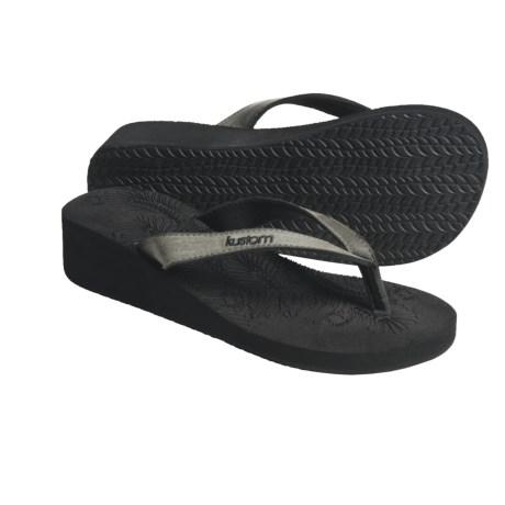 Kustom Ace Sandals - Flip-Flops, Wedge (For Women)