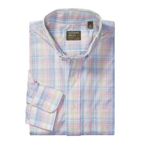 Gitman Brothers Multi-Plaid Sport Shirt - Long Sleeve (For Men)