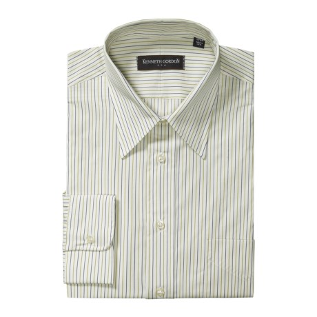 Kenneth Gordon Stripe Dress Shirt - Cotton, Long Sleeve (For Men)