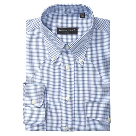 Kenneth Gordon Western Dress Shirt - Graph Check, Long Sleeve (For Men)