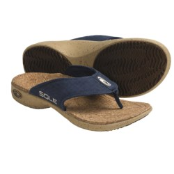 Sole Casual Flip-Flop Sandals - Hemp, Recycled Materials (For Men)