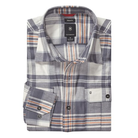 Victorinox Cargo Shirt - Flannel, Long Sleeve (For Men)