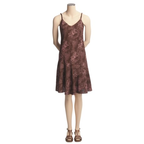 Ojai Batik Salsa Dress - Sleeveless (For Women)
