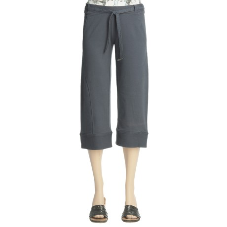 Ojai French Terry Capris (For Women)