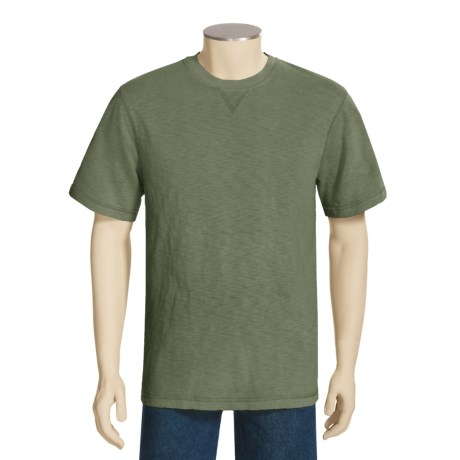 True Grit Slub Jersey Stitch Shirt - Short Sleeve (For Men)