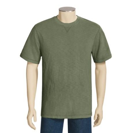 True Grit Slub Jersey Stitch Shirt - Short Sleeve (For Men)