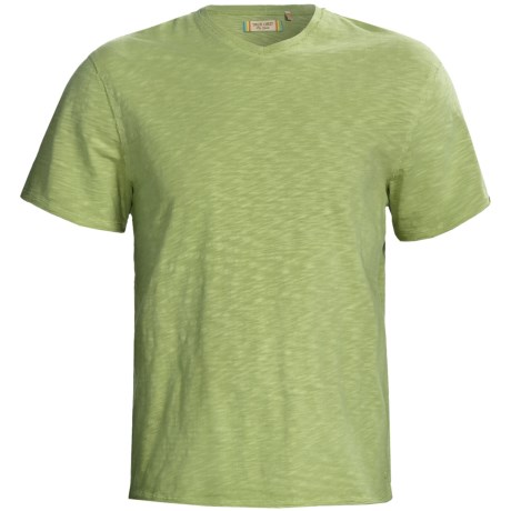 True Grit V-Neck Jersey Slub T-Shirt - Short Sleeve (For Men)