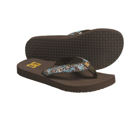 DC Shoes Prep Thong Sandals - Flip-Flops (For Women)