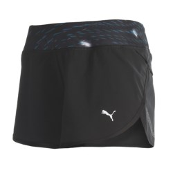Puma Mesh Running Shorts (For Women)