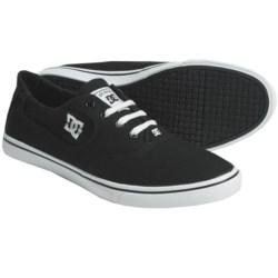 DC Shoes Flash Canvas Skate Shoes (For Women)