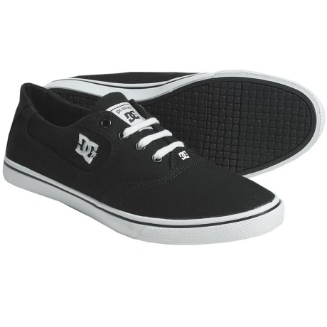 DC Shoes Flash Canvas Skate Shoes (For Women)