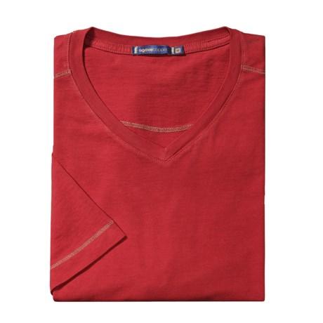 Agave Denim Diego Jersey Shirt - V-Neck, Short Sleeve (For Men)