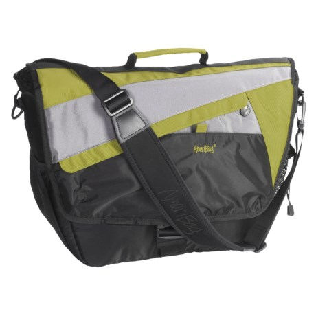 Ameribag® HelixX Messenger Bag with Laptop Sleeve