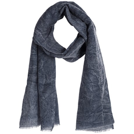 Asian Eye Harley Scarf - Stonewashed Denim (For Women)