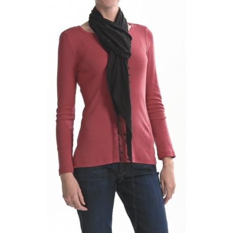 Asian Eye Sofia Scarf - Soft Cotton Jersey (For Women)