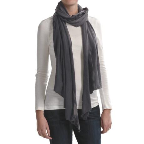 Asian Eye Soft Jersey Rag Cotton Scarf (For Women)