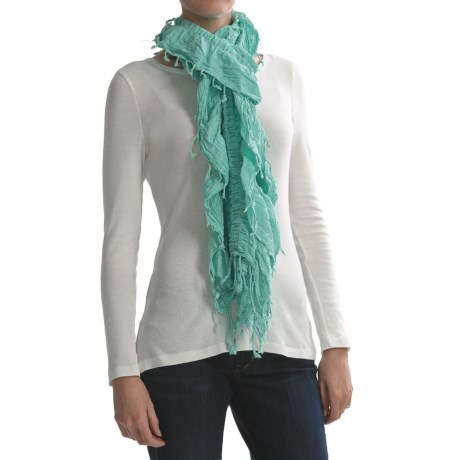 Asian Eye Fling Scarf - Ruched (For Women)