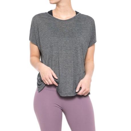 Gaiam Winnie Strappy-Back T-Shirt - Short Sleeve (For Women)