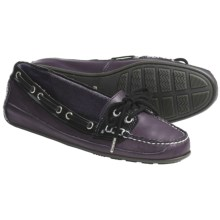 Sebago Bala Moccasin Shoes - Leather (For Women) in Violet Ice - Closeouts
