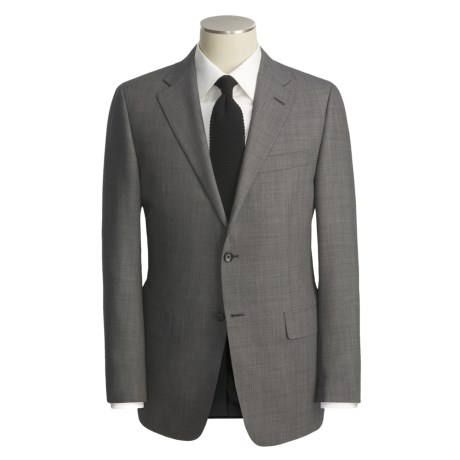 Hickey Freeman Beaded Stripe Fancy Suit - Worsted Wool (For Men)