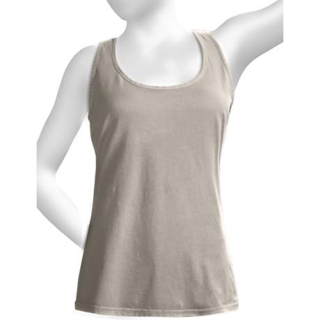 True Grit Shaped Tank - Single-Cotton Jersey, Short Sleeve (For Women)