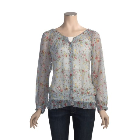 True Grit Vintage Chiffon Shirt - Long Sleeve (For Women)