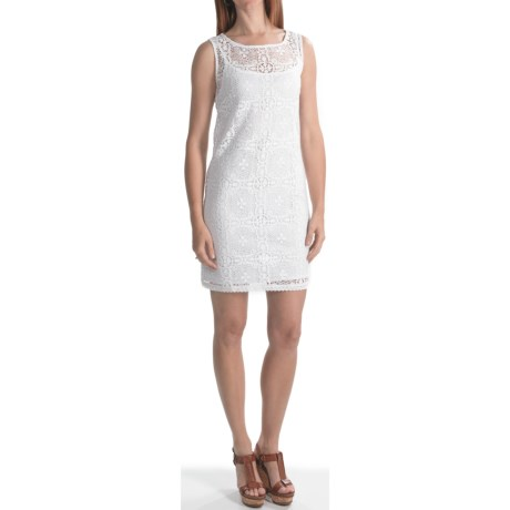 Laundry by Design Crochet Lace Sheath Dress - Sleeveless (For Women)
