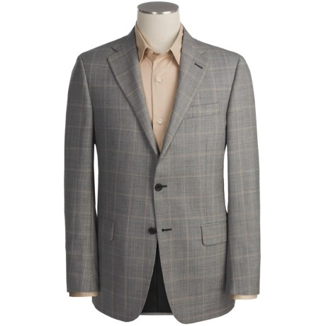 Hickey Freeman Worsted Wool Sport Coat - Windowpane (For Men)