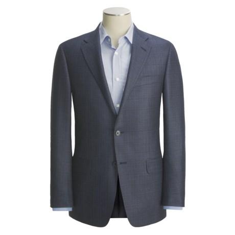 Hickey Freeman Subtle Plaid Sport Coat - Silk-Wool (For Men)