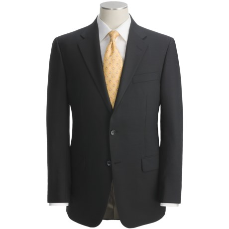 Hickey Freeman Solid Suit - Worsted Wool (For Men)