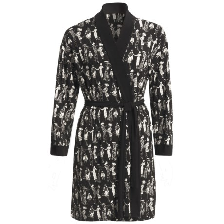 Diamond Tea Stretch Jersey Robe (For Women)