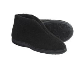 Acorn Cozy Bootie Slippers (For Women)