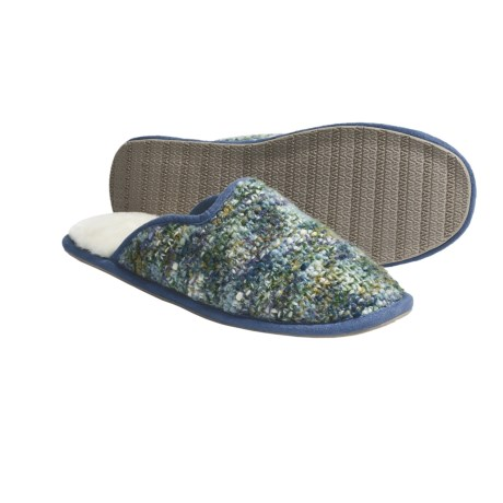 Acorn Kit Mule Slippers (For Women)