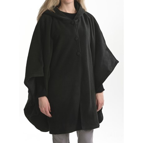 Acorn Reversible Hooded Cape (For Women)