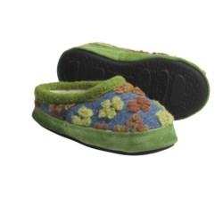 Acorn Daisy Mule Slippers (For Little Girls)