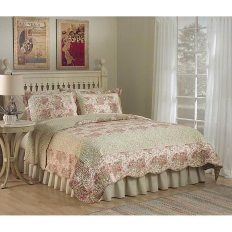 Ivy Hill Home Parisian Paisley Quilt Set - King, Cotton