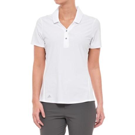 adidas Essentials Jacquard Polo Shirt - Short Sleeve (For Women)