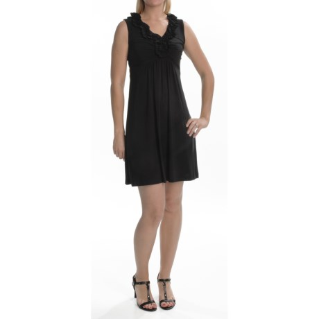 Tiana B Stretch Jersey Dress - Sleeveless (For Women)