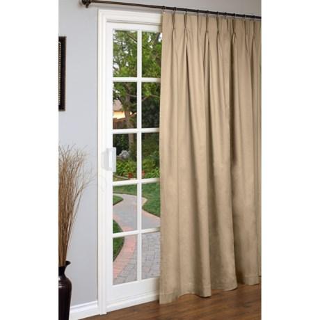 "Thermalogic Weathermate Single Panel Curtain - 96x84"", Pinch Pleat, Insulated"