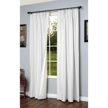 Very Nice Heavy Blackout Curtain Thermalogic Weathermate Pinch Pleat Curtains 95