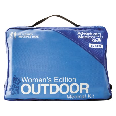 Adventure Medical Kits Women's Edition Outdoor First Aid Kit (For Women)