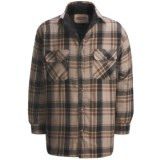 Cold Storage Flannel Shirt Jacket - Microfleece (For Men)