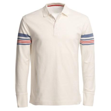Canterbury of New Zealand Arm Stripe Polo Shirt - Long Sleeve (For Men)
