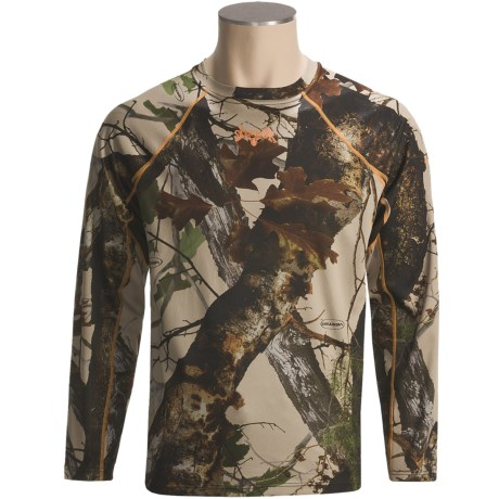 Scent-Lok® BaseSlayers Camo Top - Lightweight, Long Sleeve (For Big Men)