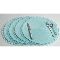 Tag Chelsea Round Woven Placemat - Set of Four