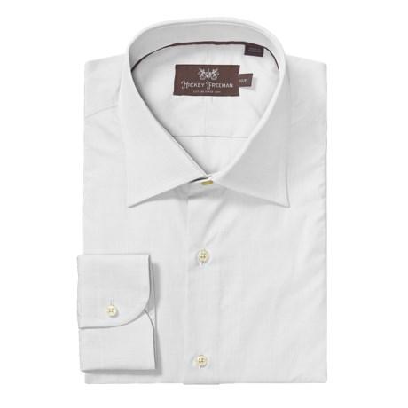 Hickey Freeman Solid Dress Shirt - Long Sleeve (For Men)