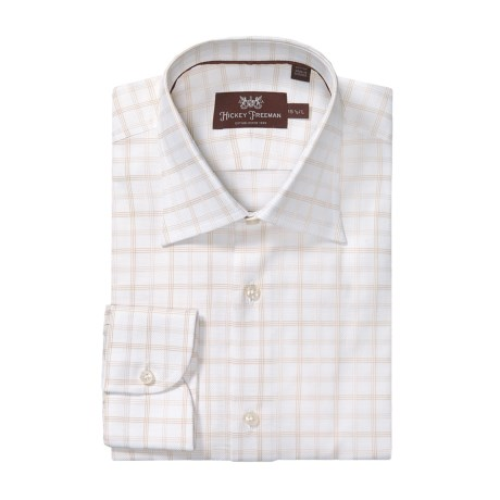 Hickey Freeman Check Dress Shirt - Long Sleeve (For Men)
