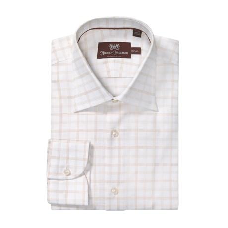 Hickey Freeman Check Dress Shirt - Long Sleeve (For Men)